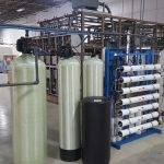 commercial water treatment installation