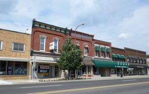 downtown Owosso, Michigan