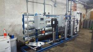 reverse osmosis systems in place