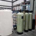 installation of commercial water treatment equipment